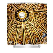 Dome Of St Peter's Basilica Vatican City Italy Shower Curtain