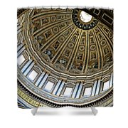 Dome Of St. Peter's Rome Shower Curtain