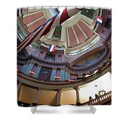 Dome Of The Old Courthouse Shower Curtain