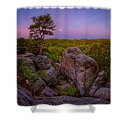 Dome Rock Shower Curtain