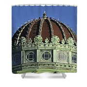 Dome Top Of Carousel House Asbury Park Nj Shower Curtain