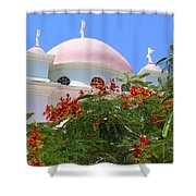 Domes Of Seven Apostles Shower Curtain