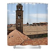 Dominican Monastery Shower Curtain