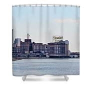 Domino Sugars - Baltimore Maryland Shower Curtain