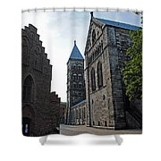 Domkyrkan Lund Se 11 Shower Curtain
