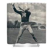 Don Hutson Poster Shower Curtain