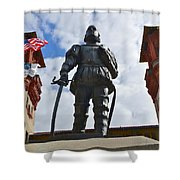 Don Pedro Menendez De Aviles Shower Curtain