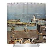 Donaghadee Ireland Irish Sea Shower Curtain