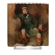 Donald Mcintyre Shower Curtain