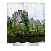 Donegal Castle In Donegaltown Ireland Shower Curtain