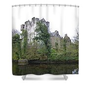 Donegal Castle Ruins Shower Curtain
