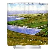 Donegal Coast Shower Curtain