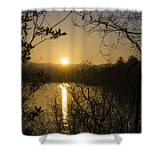 Donegal Morning - Lough Eske Shower Curtain