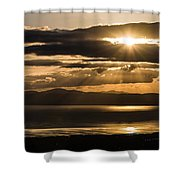Donegal Sunset Shower Curtain