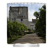 Donjon Loches - France Shower Curtain