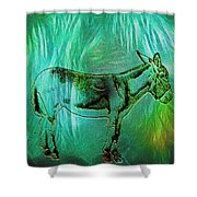 Donkey-featured In Nature Photography Group Shower Curtain
