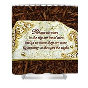 Donna's Special Message Shower Curtain