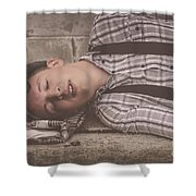 Dont Kill The Messenger Shower Curtain