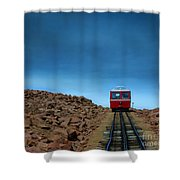 Don't Know When I'll Be Back Again Shower Curtain