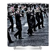 Don't Let The Parade Pass You By Shower Curtain