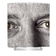 Dont Let The Stars Get In Your Hazel Eyes Shower Curtain