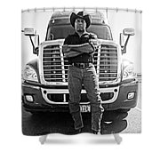 Don't Mess With My Truck Shower Curtain