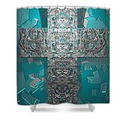 Dontsayanything B 14  2 For Rich Shower Curtain