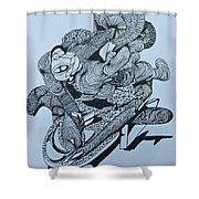Doodle - 02 Shower Curtain