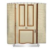 Door 35 Shower Curtain