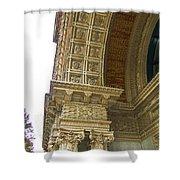 Door Arch Shower Curtain