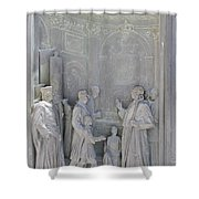 Door Detail Cathedral Siena Shower Curtain