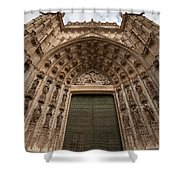 Door Of Assumption Of The Seville Cathedral Shower Curtain