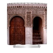 Door Of The Court Of The Myrtles 2 Shower Curtain