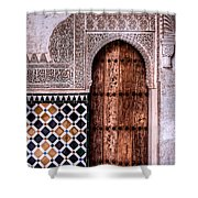 Door Of The Court Of The Myrtles 4 Shower Curtain