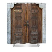 Door Of The Topkapi Palace - Istanbul Shower Curtain
