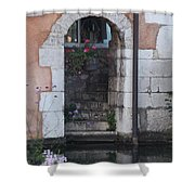 Door On The River Shower Curtain