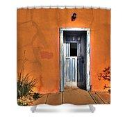 Door Shower Curtain