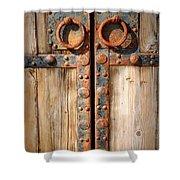Door To Ancient Secrets Shower Curtain