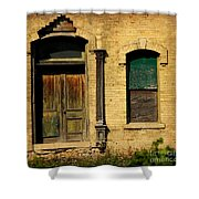 Door To Nowhere Shower Curtain