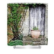 Door To The Cotswolds Shower Curtain