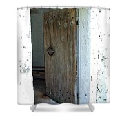 Door To The Old Lighthouse Shower Curtain