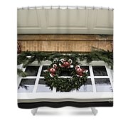 Door Trim Governors Palace Shower Curtain