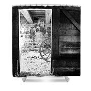 Doorway Through Time Shower Curtain