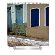 Doors And Windows Lencois Brazil 3 Shower Curtain