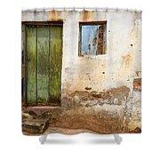 Doors And Windows Lencois Brazil 4 Shower Curtain