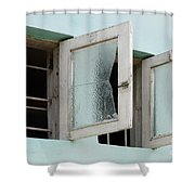 Doors And Windows Lencois Brazil 5 Shower Curtain