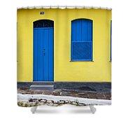 Doors And Windows Lencois Brazil 8 Shower Curtain