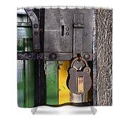 Doors And Windows Minas Gerais State Brazil 12 Shower Curtain