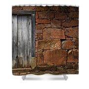 Doors And Windows Minas Gerais State Brazil 3 Shower Curtain