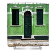 Doors And Wndows Lencois Brazil 7 Shower Curtain